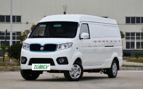 深圳东风比克纯电动面包车物流车货车东风EM13中型面包车飞鱼